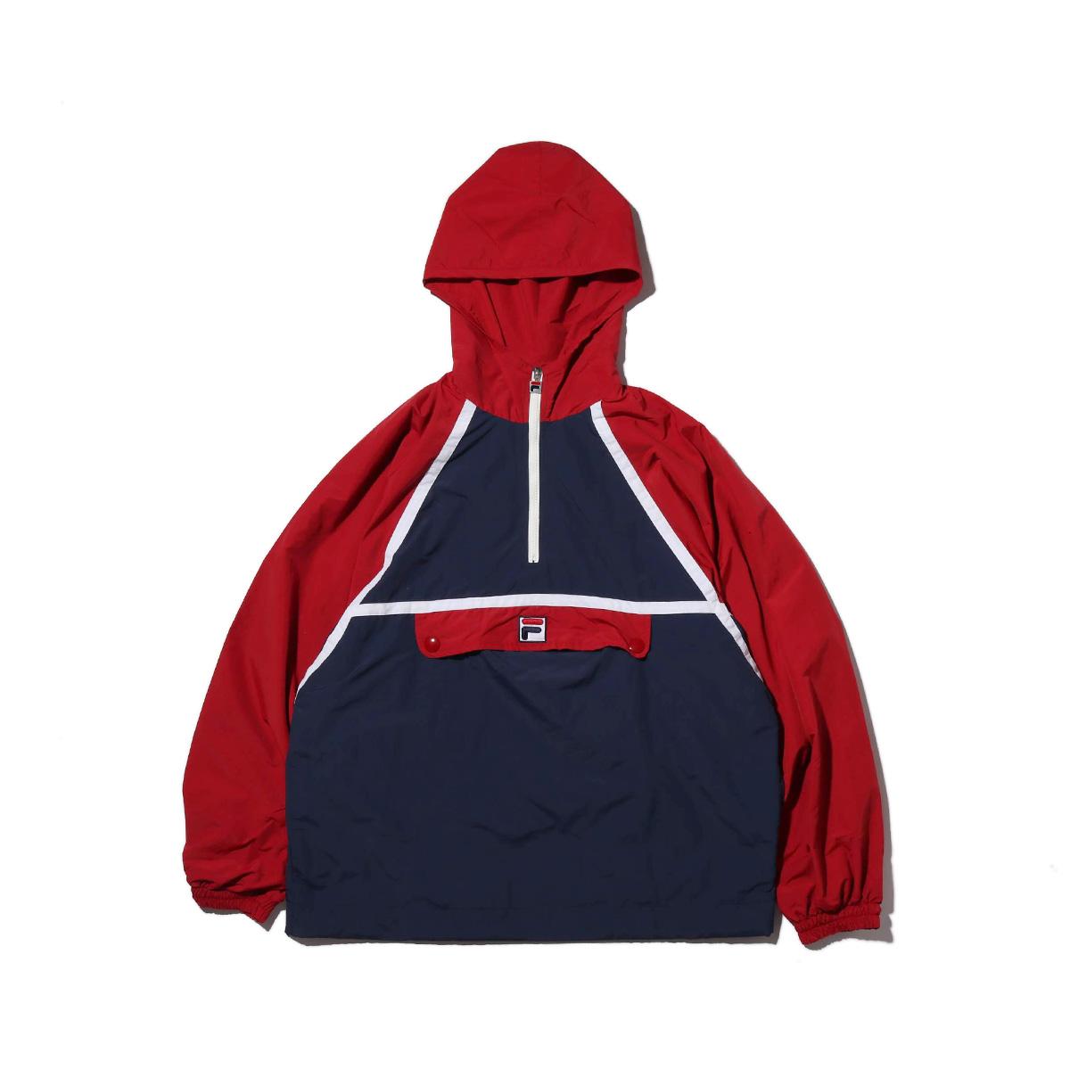 FILA Anorak (フィラ アノラック)RED【メンズ ジャケット】18FW-I