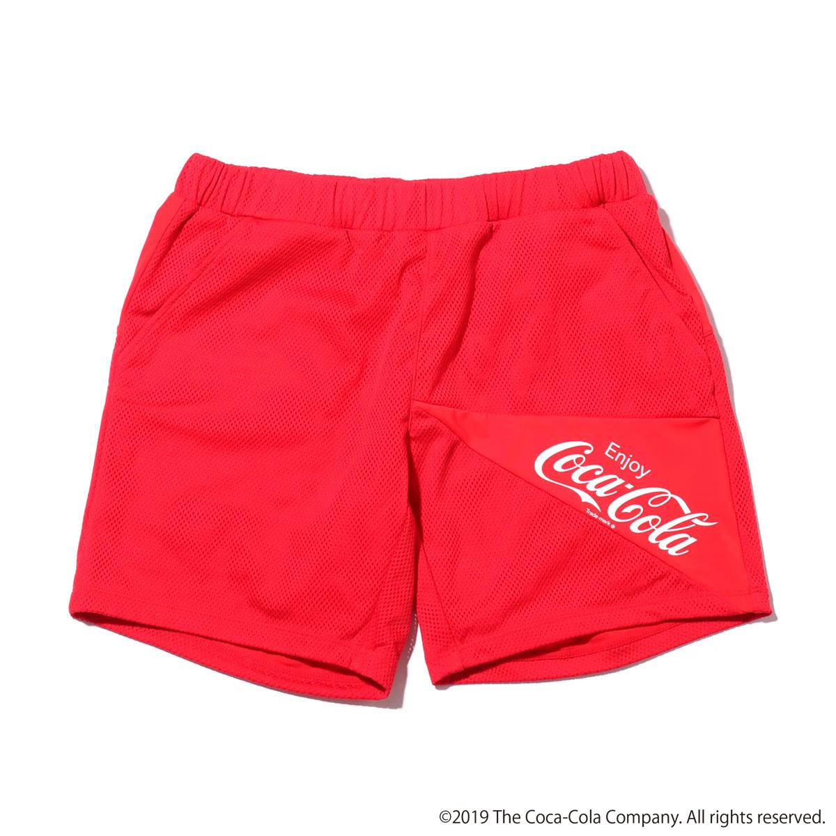 GUACAMOLE GUACAmos COCA-COLA mens pants(ガカモレ ガカモス コカ・コーラ メンズパンツ)RED【メンズ 水着】19SS-S