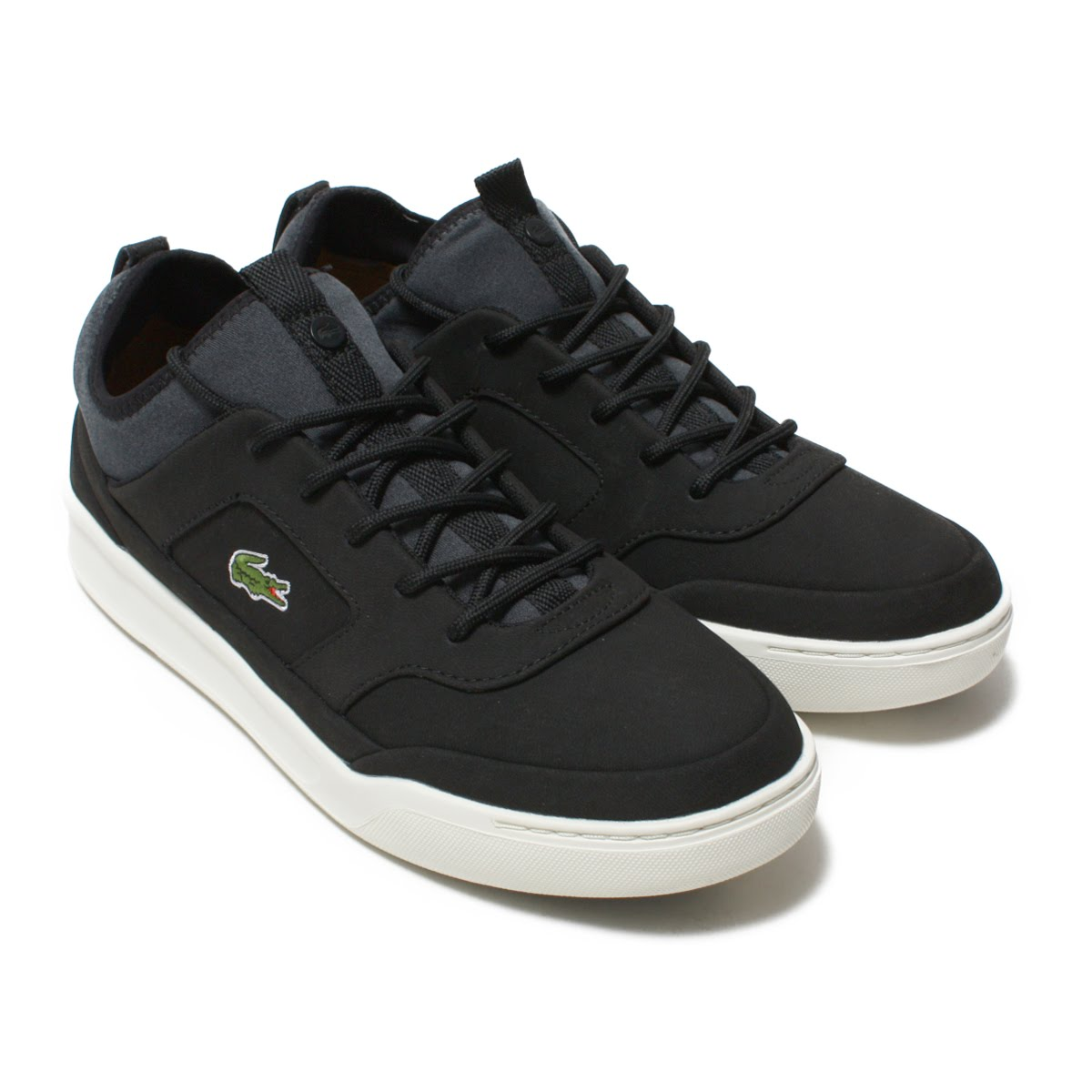 LACOSTE EXPLORATEUR CRFT SP 118 1(ラコステ エクスプロラトゥール クラフト SP 118 1)BLK/OFF WHT【メンズ スニーカー】18SP-I