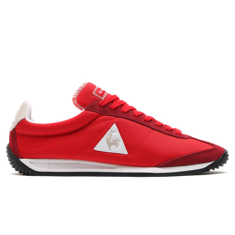 8893bc2eb604 le coq sportif QUARTZ NYLON (Le Coq Sportif quartz nylon) (VINTAGE BIKING  RED) 16SS-I