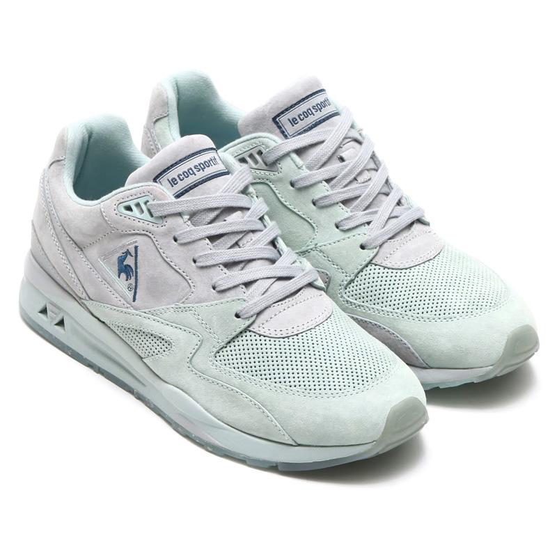 Mens Le Coq Sportif Shoes – Lcs R9Xt Monochrome Reflective