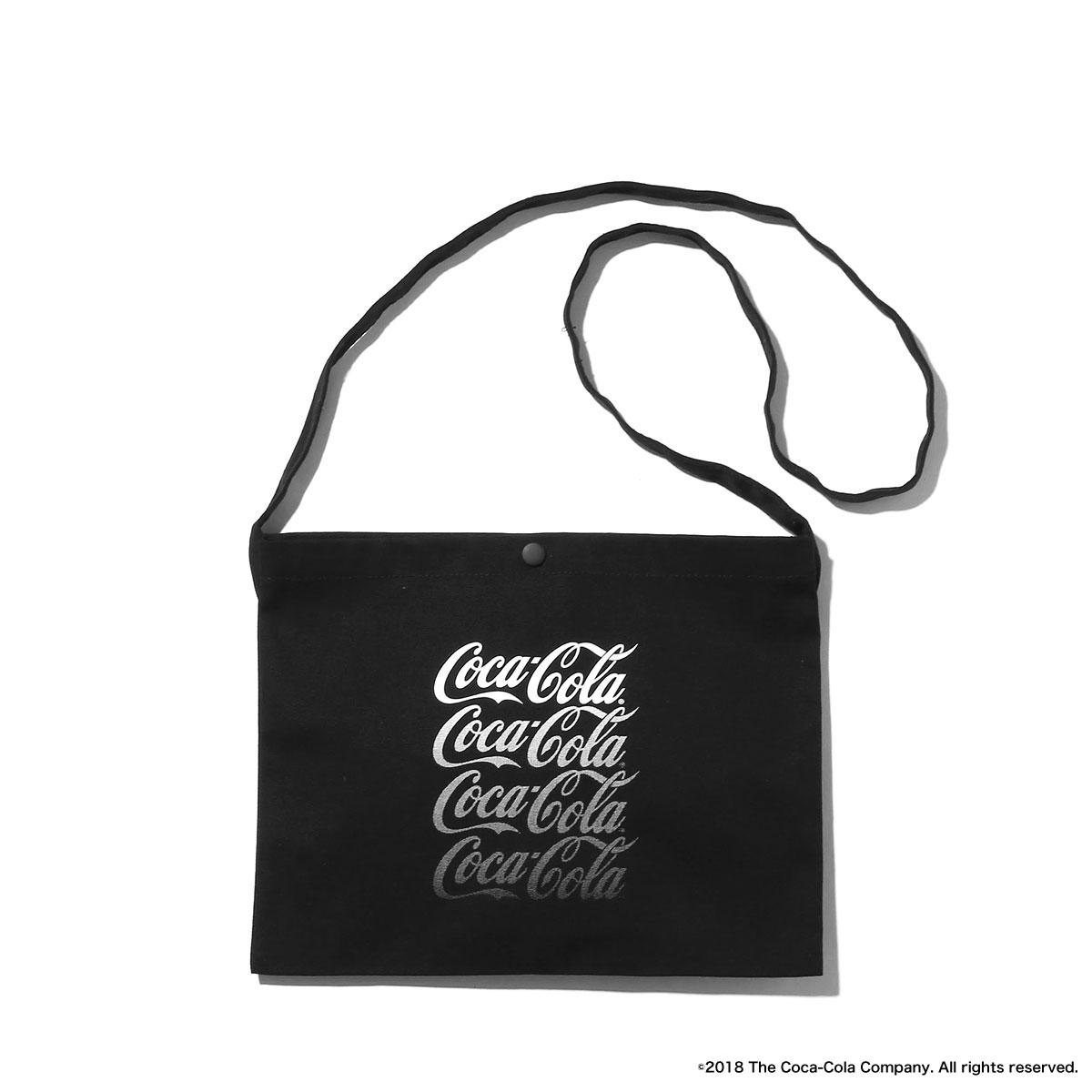 MACKDADDY X COCA COLA COTTON SACOCHE Coca BLACK 18SP I