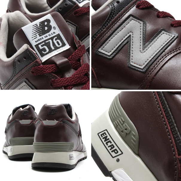 "New Balance M576 CD ""Made in USA"" CORDOVAN 14SS-I"