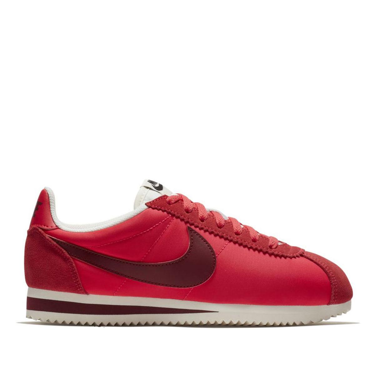 sports shoes f1c7f 7110c NIKE WMNS CLASSIC CORTEZ NYLON (ナイキウィメンズクラシックコルテッツナイロン) SIREN RED/TEAM  RED-SAIL 17FA-I