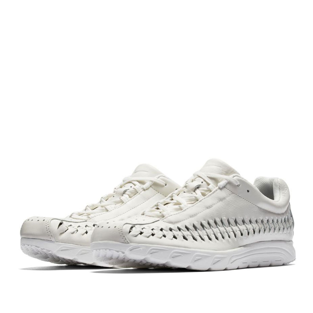 e9dc30e24fe842 NIKE MAYFLY WOVEN (Nike May fly Woo) SUMMIT WHITE SUMMIT WHITE-BLACK 17FA-I