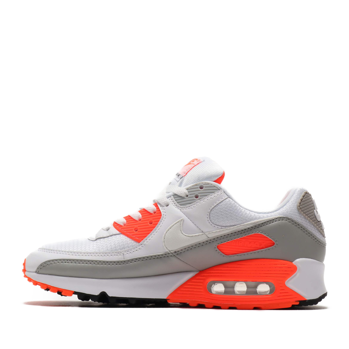 NIKE AIR MAX 90 ナイキ エア マックス 90 WHITE WHITE HYPER ORANGE LT SMOKE8nm0wOvN