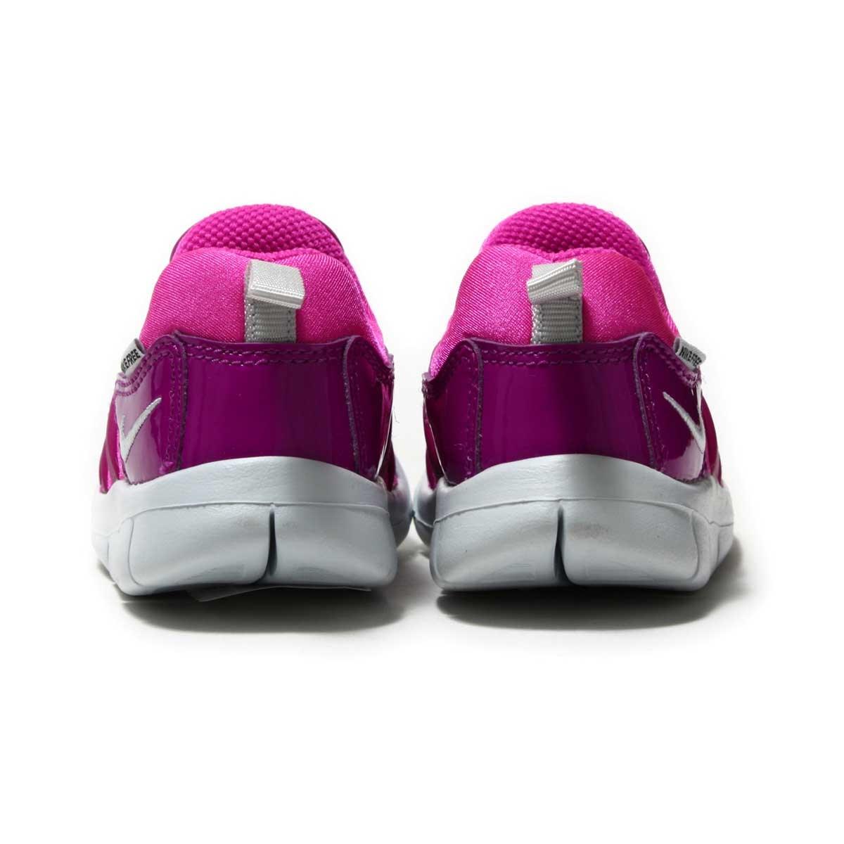 ef426fd5773d NIKE DYNAMO FREE (TD) (Nike dynamo-free TD) FIRE PINK PURE PLATINUM-BOLD  BERRY-BLACK 17HO-I