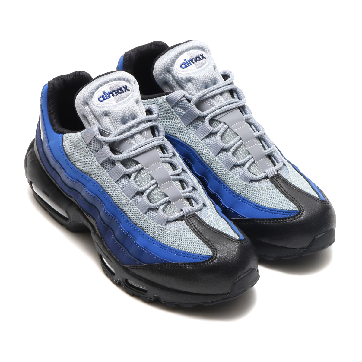 wholesale dealer e4ff7 8345a NIKE AIR MAX 95 ESSENTIAL (Kie Ney AMAX 95 essential) BLACKWHITE-BINARY  BLUE-DEEP ROYAL 17HO-I