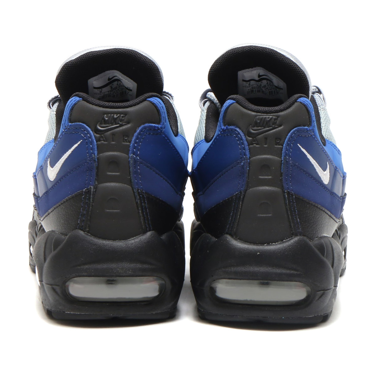 NIKE AIR MAX 95 ESSENTIAL(耐克空气最大95精华)BLACKWHITE BINARY BLUE DEEP ROYAL 17HO I