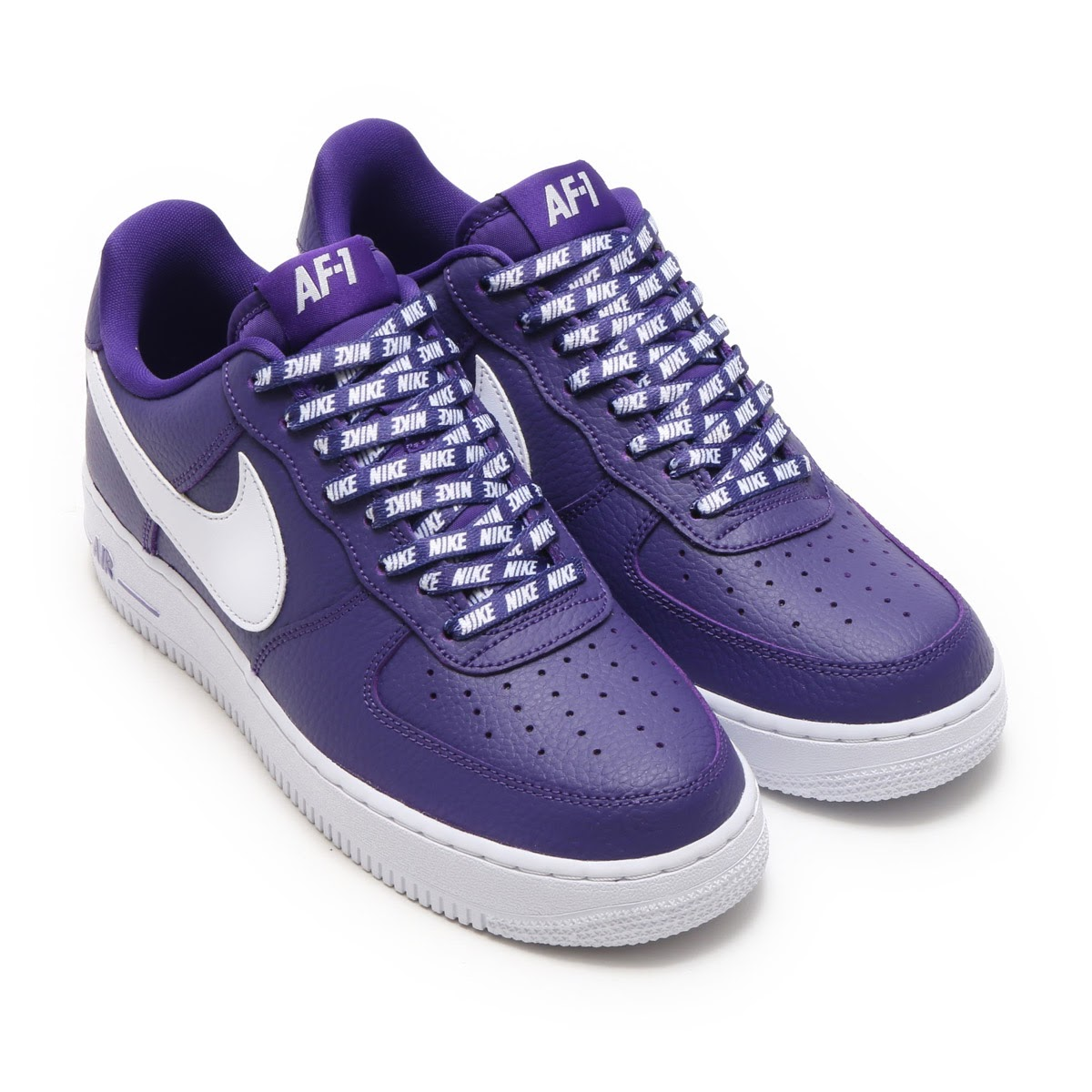 NIKE AIR FORCE 1 '07 LV8(ナイキ エア フォース 1 '07 LV8)(COURT PURPLE/WHITE)17HO-S
