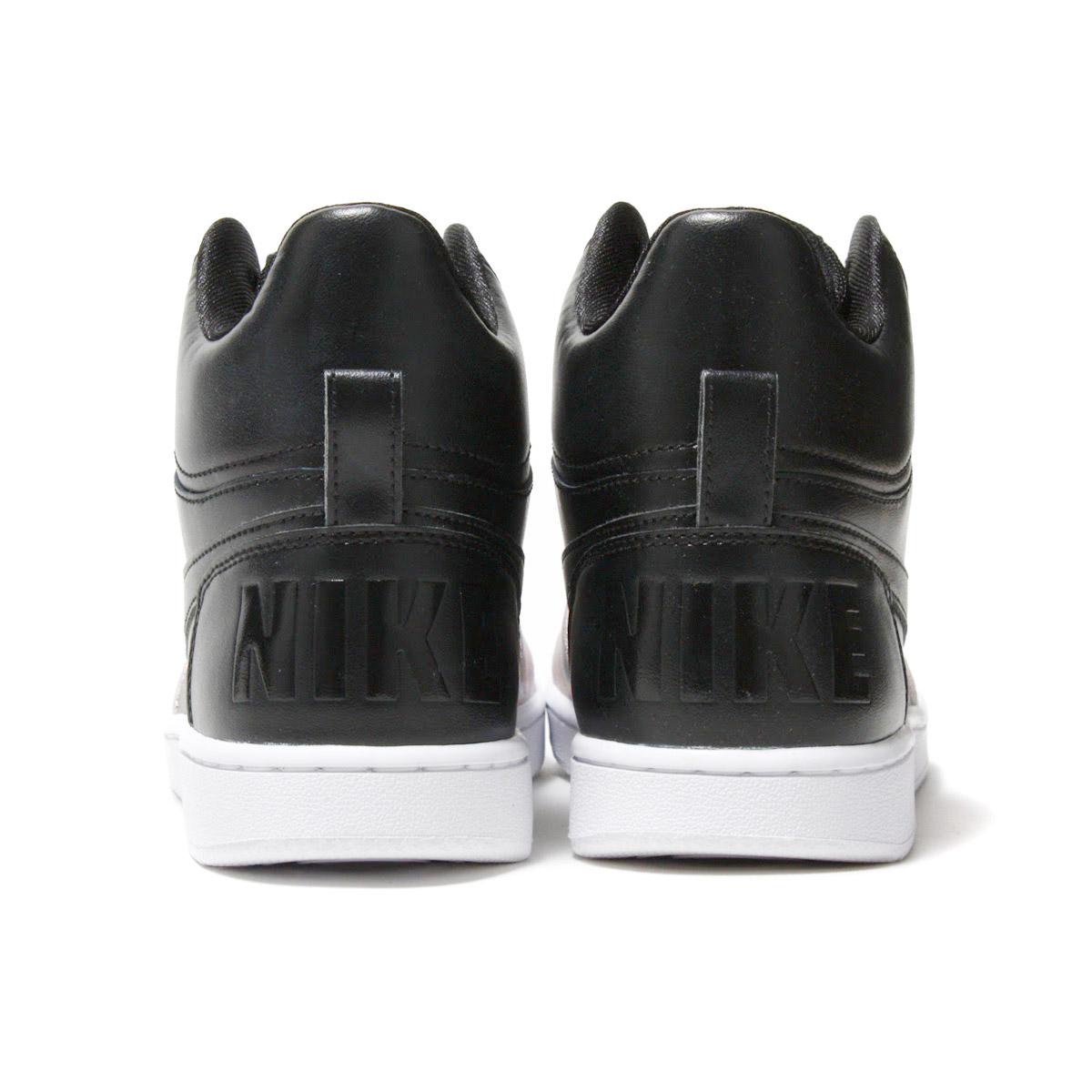 adc7de6611ce NIKE W COURT BOROUGH MID PREM (Nike women coat Barlow mid premium)  BLACK BLACK-ROSE GOLD 17HO-I