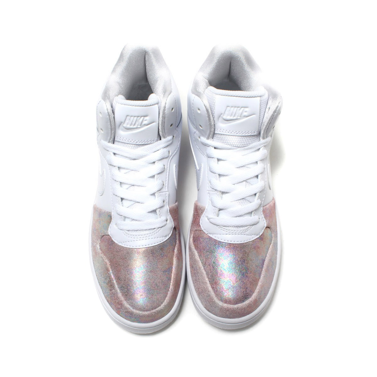 fbe07326107d NIKE W COURT BOROUGH MID PREM (Nike women coat Barlow mid premium)  WHITE WHITE-ROSE GOLD 17HO-I