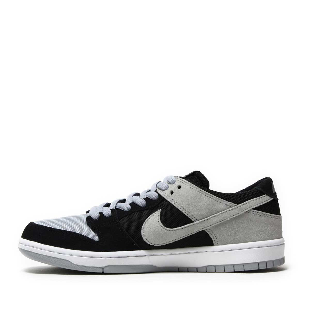 wholesale dealer c6c13 36299 NIKE SB ZOOM DUNK LOW PRO (Nike SB zoom dunk low pro) BLACK WOLF  GREY-WHITE-WHITE 17HO-I