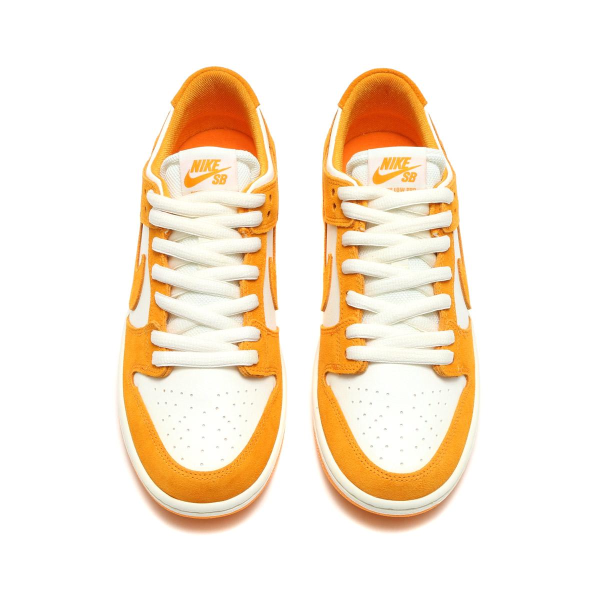 size 40 53de3 05d2a NIKE SB ZOOM DUNK LOW PRO (Nike Nike SB zoom dunk low pro) (CIRCUIT  ORANGE CIRCUIT ORANGE-SAIL) 17FA-S