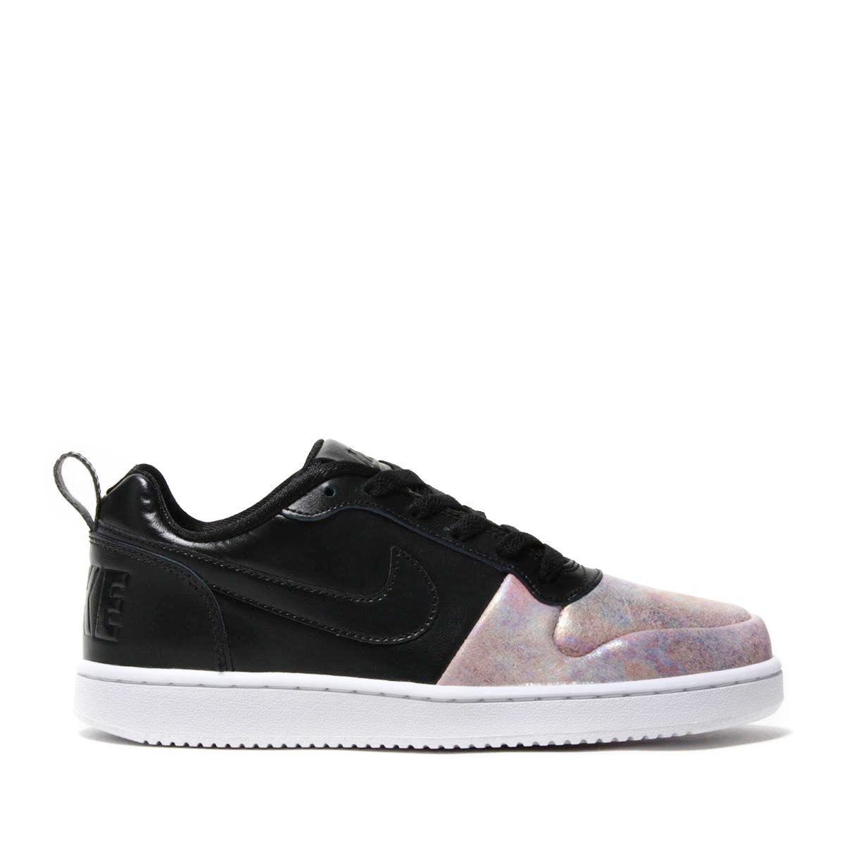 16f52a1ca549 NIKE W COURT BOROUGH LOW PREM (Nike women coat Barlow low premium)  BLACK BLACK-ROSE GOLD-WHITE 17HO-I