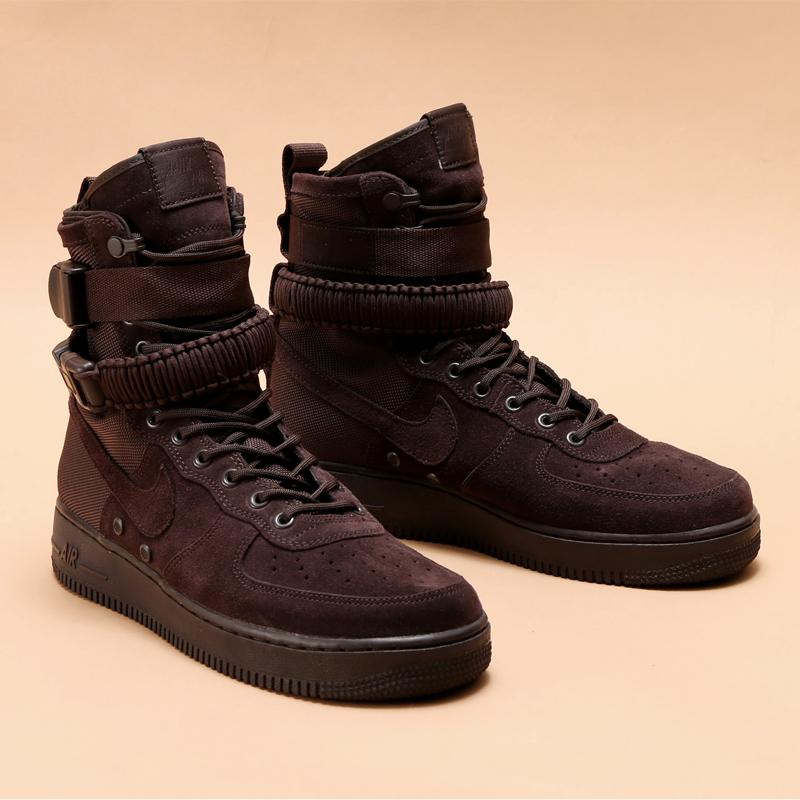 NIKE SF AF1 (Nike special field air force 1) (VELVET BROWN VELVET BROWN)  17HO-S 85ade86a5