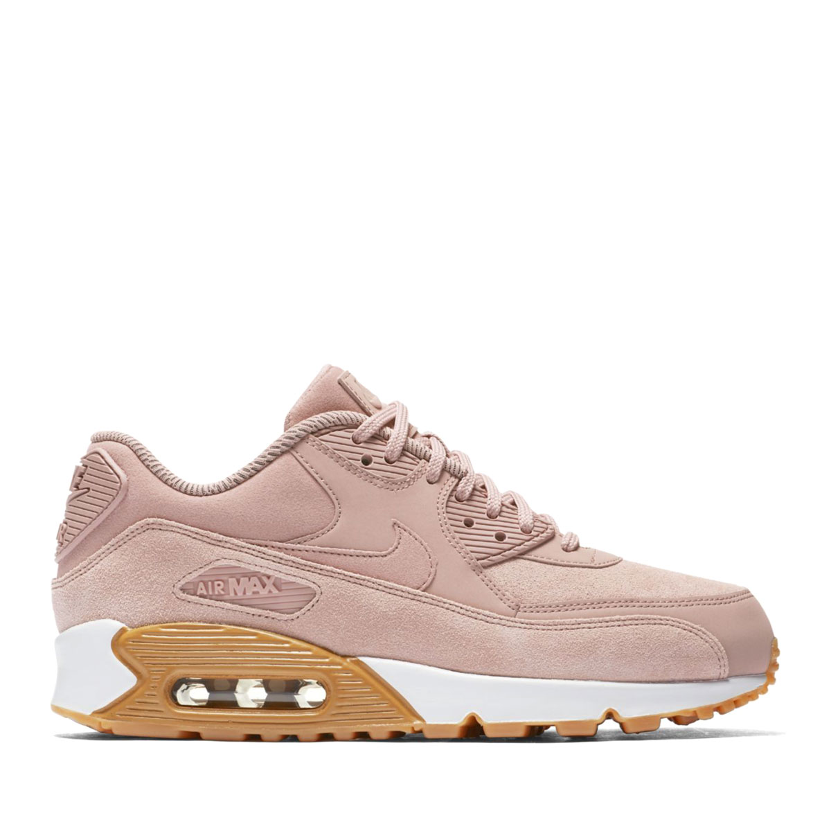 NIKE WMNS AIR MAX 90 SE (Nike women Air Max 90 SE) PARTICLE PINK PARTICLE  PINK 17HO-I 07ae394e2