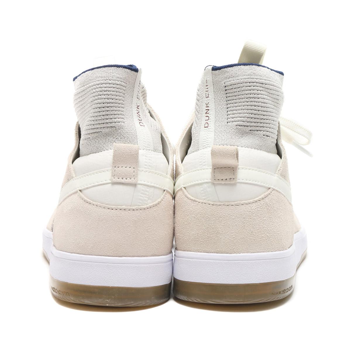 NIKE SB ZOOM DUNK HIGH ELITE (Nike Nike SB zoom dunk high elite)  (SAIL/SAIL-BINARY BLUE-DARK TEAM RED) 17FA-S