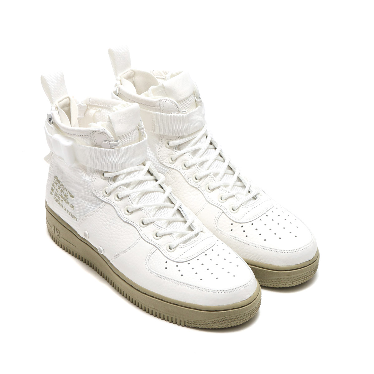 newest b1b77 e75b5 NIKE SF AF1 MID (Nike special field air force 1 mid) (IVORYIVORY-NEUTRAL  OLIVE) 17FA-S
