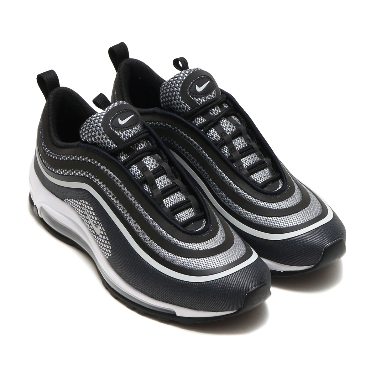 bc5debd016f0 The Air Max 97 ultra that updated a futuristic original model with  refreshing modern structure. Mesh and a knit material are light  wear it