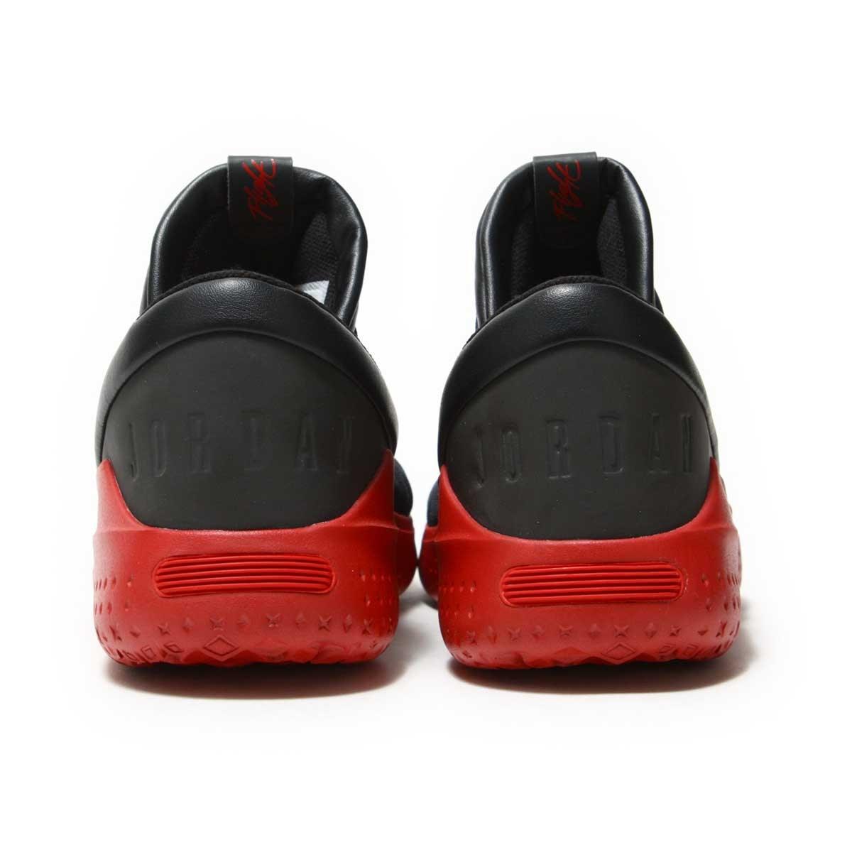 db6f01f1be0 NIKE JORDAN FLIGHT LUXE (Nike Jordan flight LUXE) BLACK GYM RED-GYM RED  17HO-I