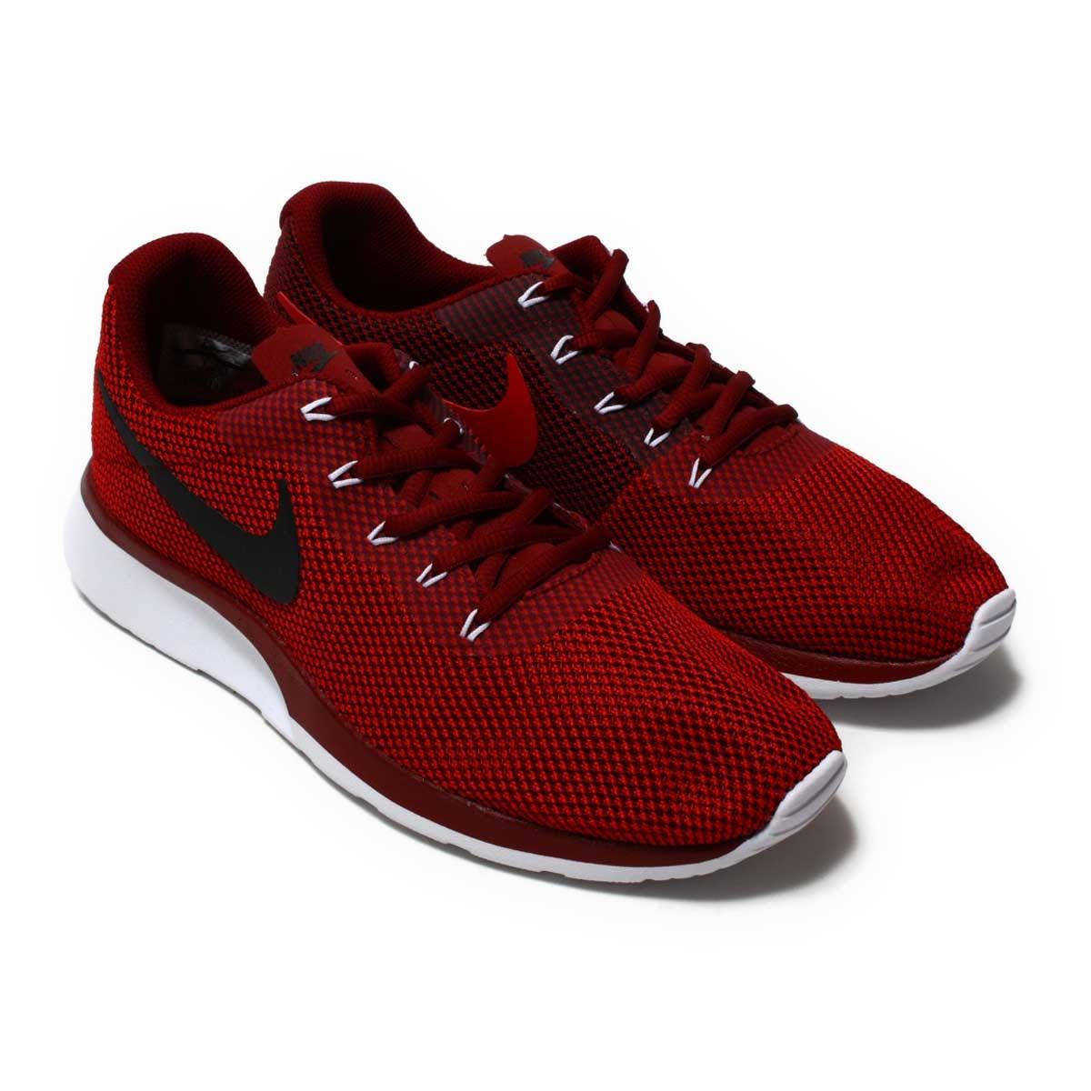 dde3340ebf79 NIKE TANJUN RACER (Nike tongue Jun racer) TEAM RED BLACK-GYM RED-WHITE  17HO-I