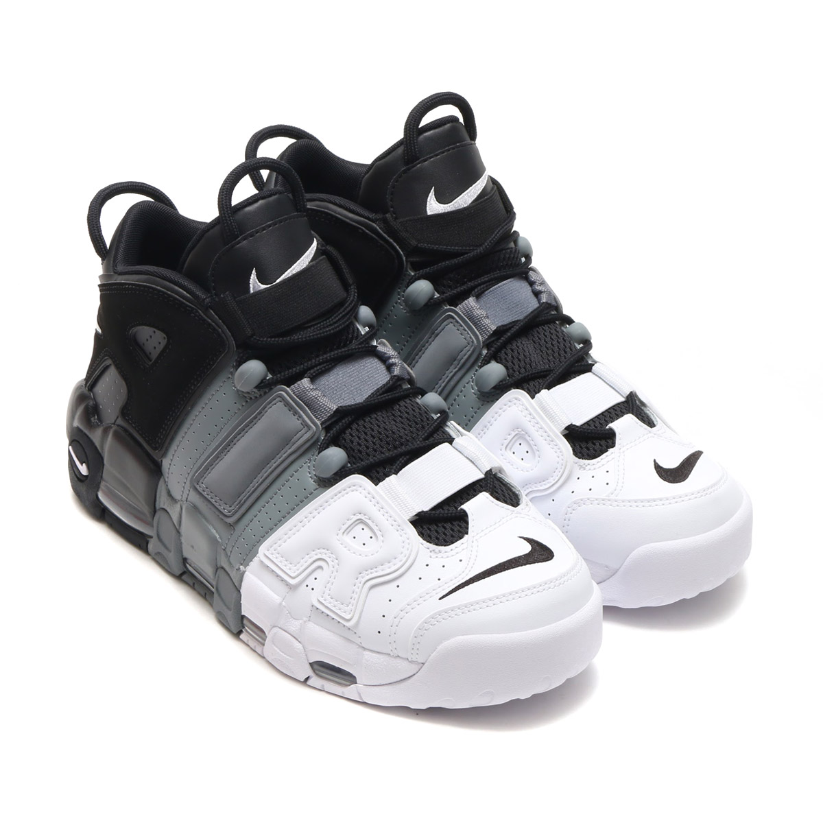 12609b96fb00 ... new zealand nike air more uptempo 96 nike more up tempo 96 black black  cool grey