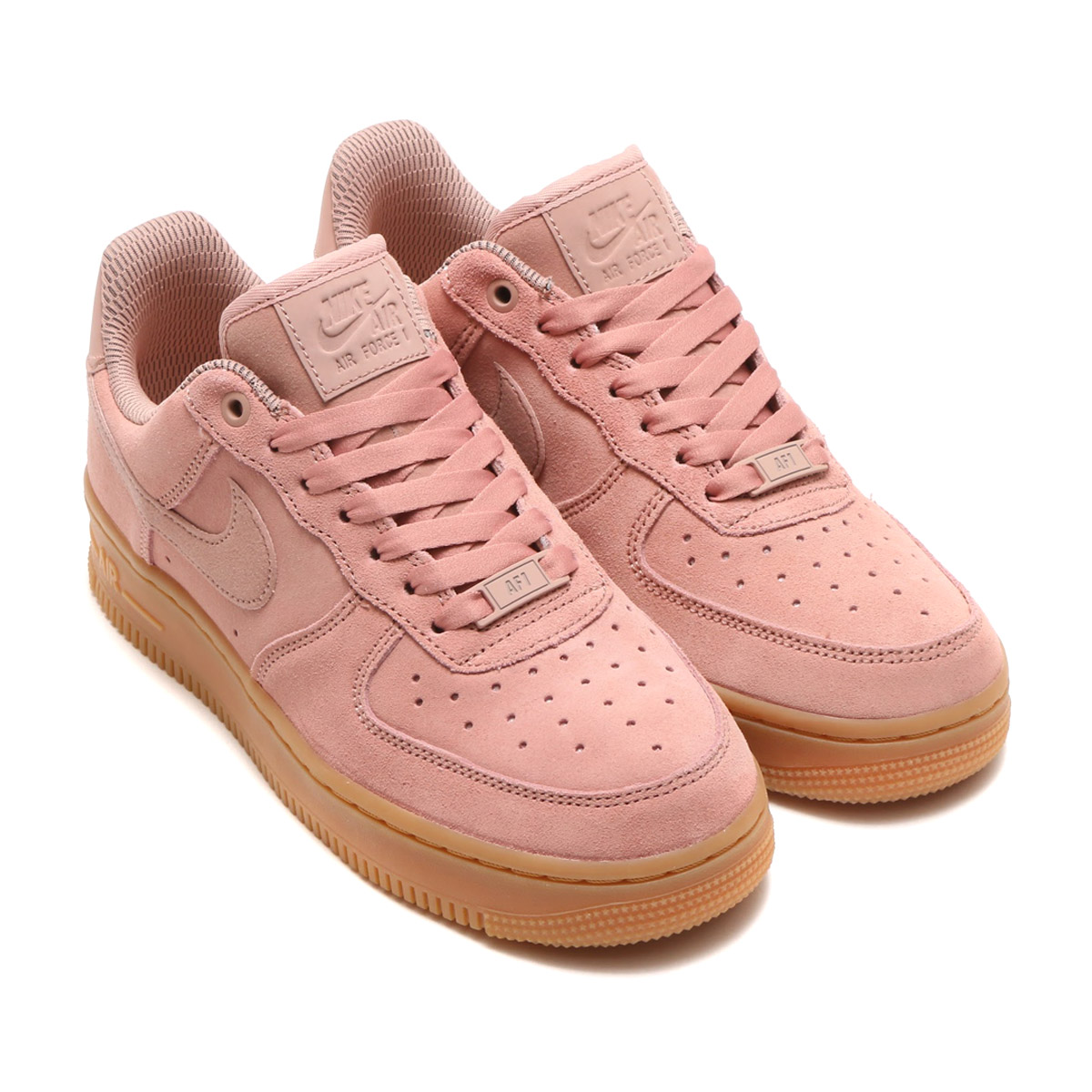 209c25e6f8 NIKE WMNS AIR FORCE 1 '07 SE (Nike women air force 1 07 SE) PARTICLE  PINK/PARTICLE PINK 17HO-I