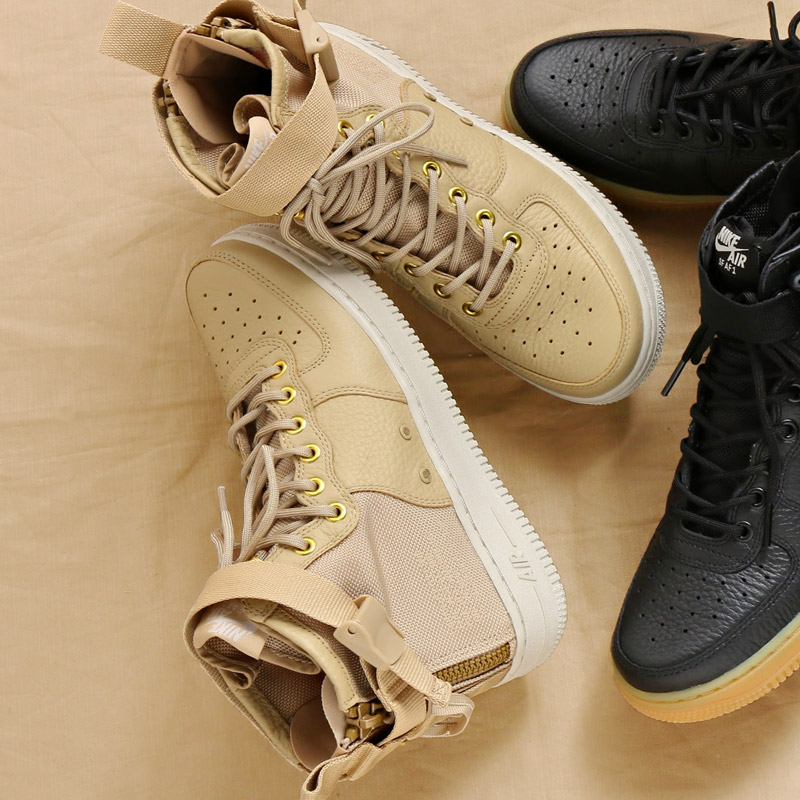 26bd8d2fb2ca NIKE W SF AF1 MID (Nike women special field air force 1 mid)  (MUSHROOM MUSHROOM-LIGHT BONE) 17HO-S