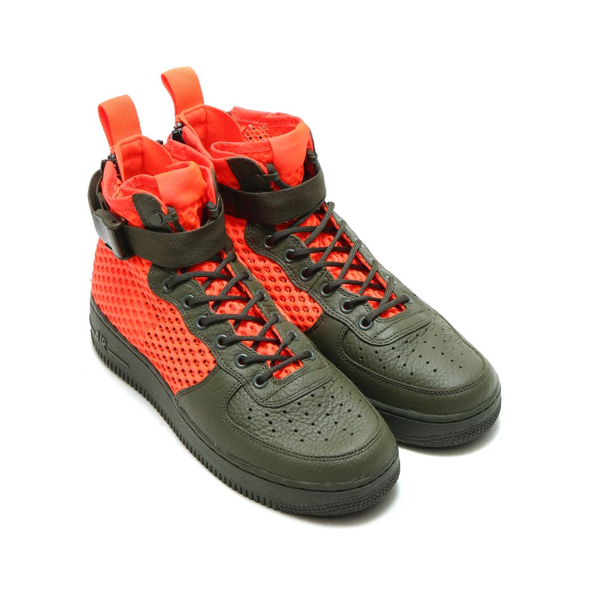 Nike Khaki17fa 1 Qscargo Af1 Qsnike S Field Special Mid Khakitotal Crimson Force Sf Cargo Air PZiXku