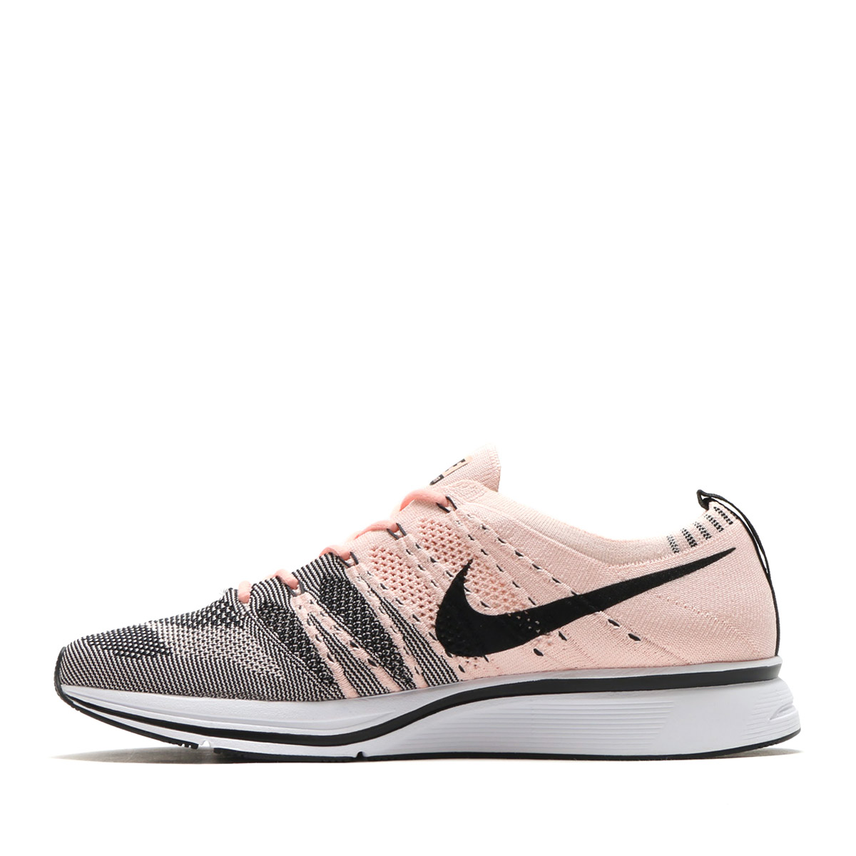 f1e66a03932b NIKE FLYKNIT TRAINER (Nike fried food knit trainer) (SUNSET TINT BLACK-WHITE)  17FA-S