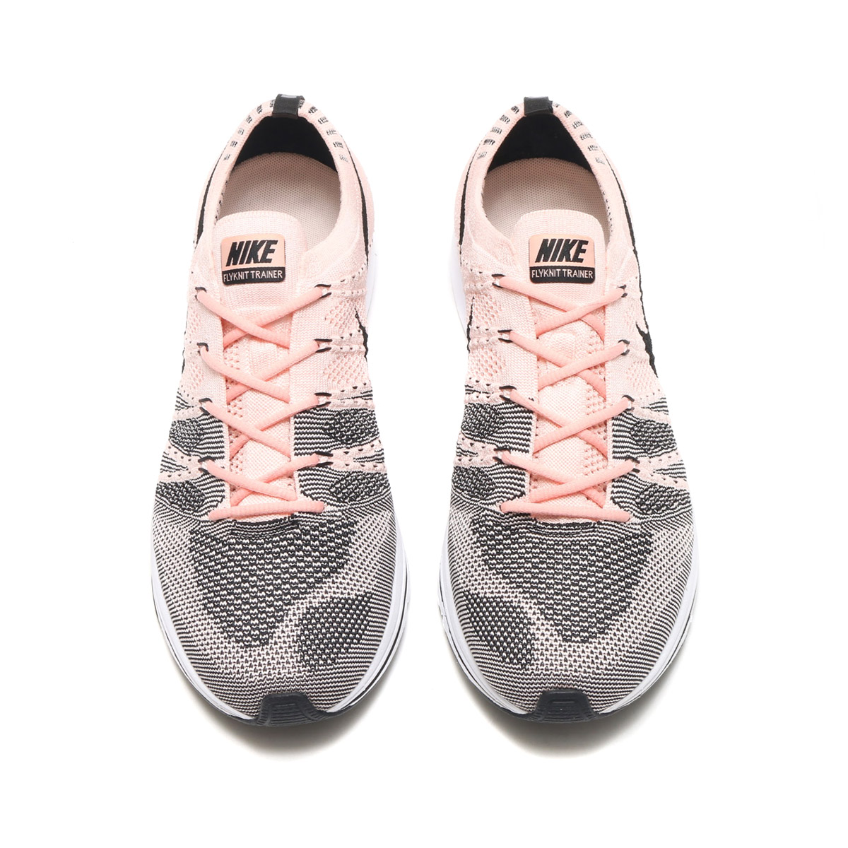 d496e3fe276a NIKE FLYKNIT TRAINER (Nike fried food knit trainer) (SUNSET  TINT BLACK-WHITE) 17FA-S