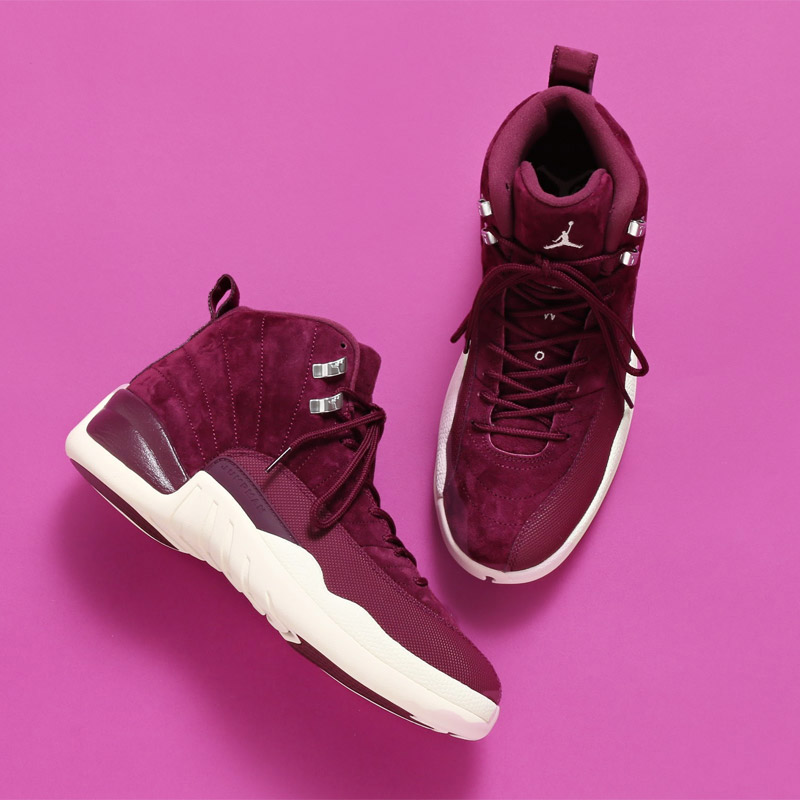 Air Jordan 12 that sense of quality stands out after birth. The gorgeous  atmosphere has been made use of in the new color and subject matter without  several ...