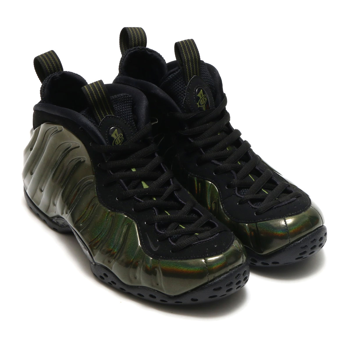 8719d6dba00 NIKE AIR FOAMPOSITE ONE (ナイキエアフォームポジット 1) (LEGION GREEN BLACK-BLACK)