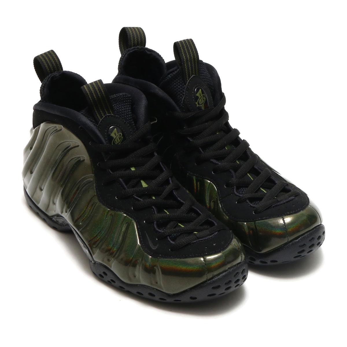 NIKE AIR FOAMPOSITE ONE(ナイキ エア フォームポジット 1)(LEGION GREEN/BLACK-BLACK)