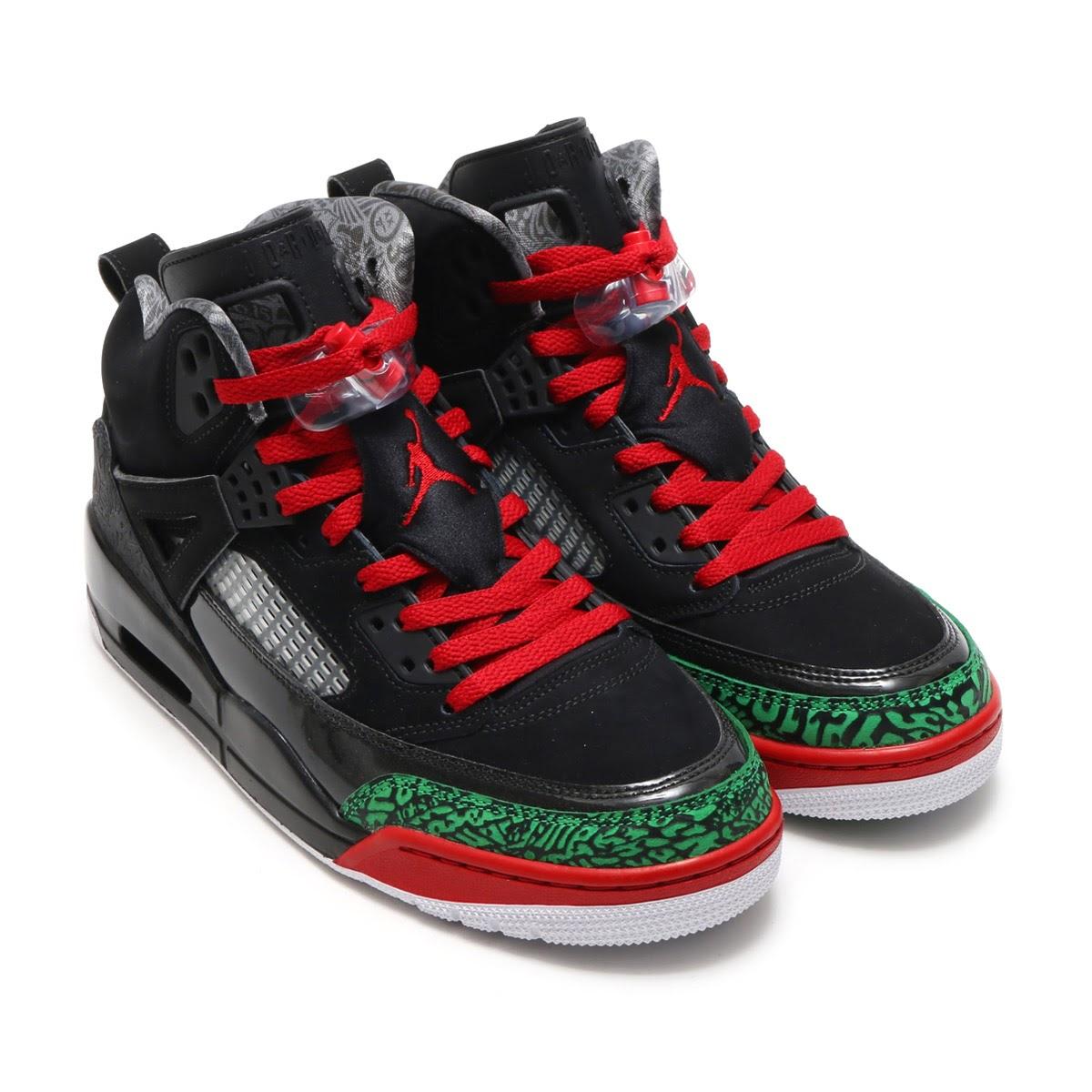 sports shoes c3107 f3b36 NIKE JORDAN SPIZIKE (Nike Jordan spy Zeke) (BLACK VARSITY RED-CLASSIC  GREEN-WHITE) 17HO-S