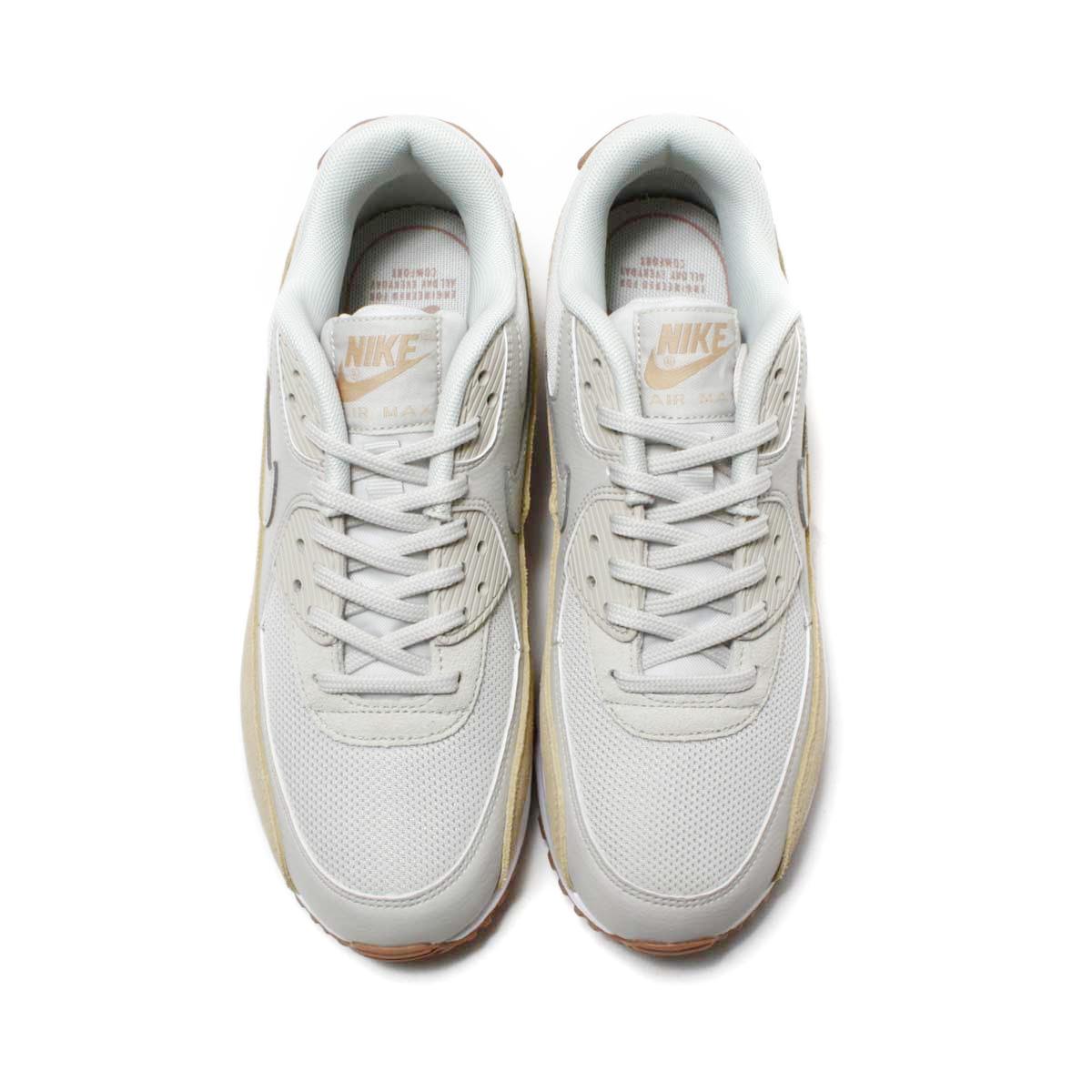 official photos e3abc 7d2e6 ... NIKE WMNS AIR MAX 90 (Nike women Air Max 90) (LIGHT BONE  ...