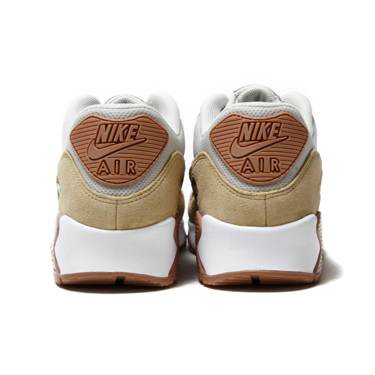 newest 69c85 9b924 ... NIKE WMNS AIR MAX 90 (Nike women Air Max 90) (LIGHT BONE