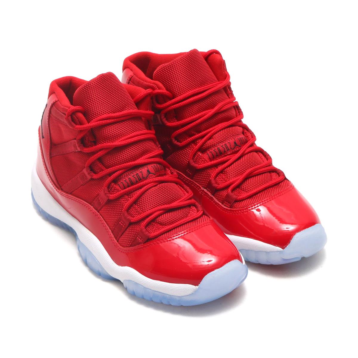 47dd6f8d31a9f0 atmos pink  NIKE AIR JORDAN 11 RETRO BG (Nike Air Jordan 11 nostalgic BG) (GYM  RED BLACK-WHITE) 17HO-S