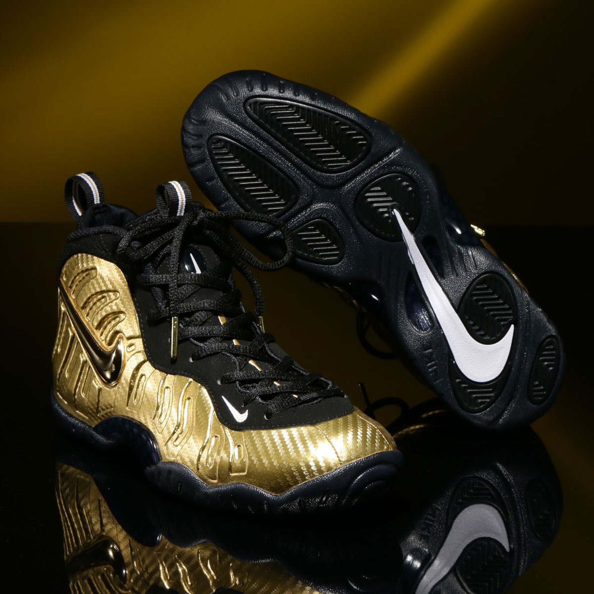 2154eae15f0 ... uk nike little posite pro gs gs metallic gold black black white 17ho s  48d5e 8cc96