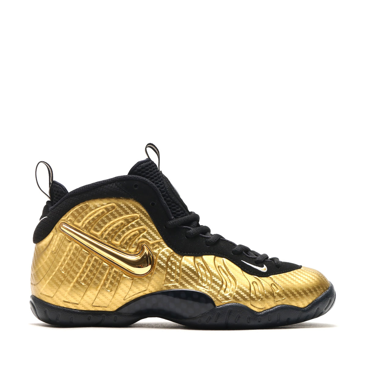 e96ae1999a80 NIKE LITTLE POSITE PRO (GS) (ナイキリトルポジットプロ GS) METALLIC GOLD BLACK-BLACK-WHITE  17HO-S