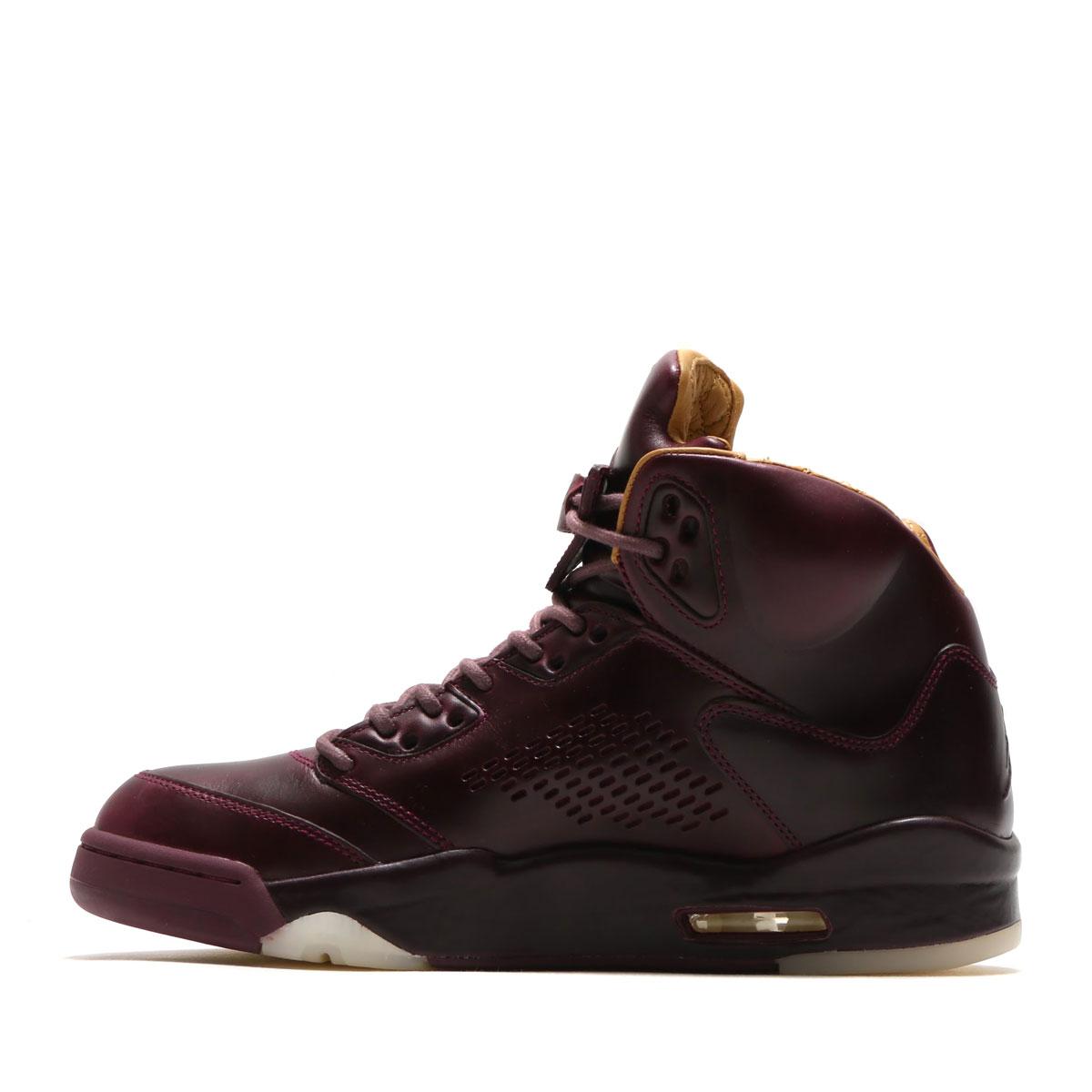 new style ca364 e95b5 NIKE AIR JORDAN 5 RETRO PREM (Nike Air Jordan 5 nostalgic premium) (BORDEAUX  BORDEAUX-SAIL-ELEMENTAL GOLD) 17HO-S