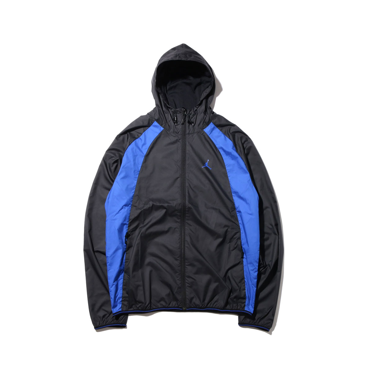 NIKE JSW WINGS WINDBREAKER(ナイキ ジョーダン JSW WINGS ウィンドブレーカー)(BLACK/BLACK/GAME ROYAL/(GAME ROYAL))【メンズ】17HO-S