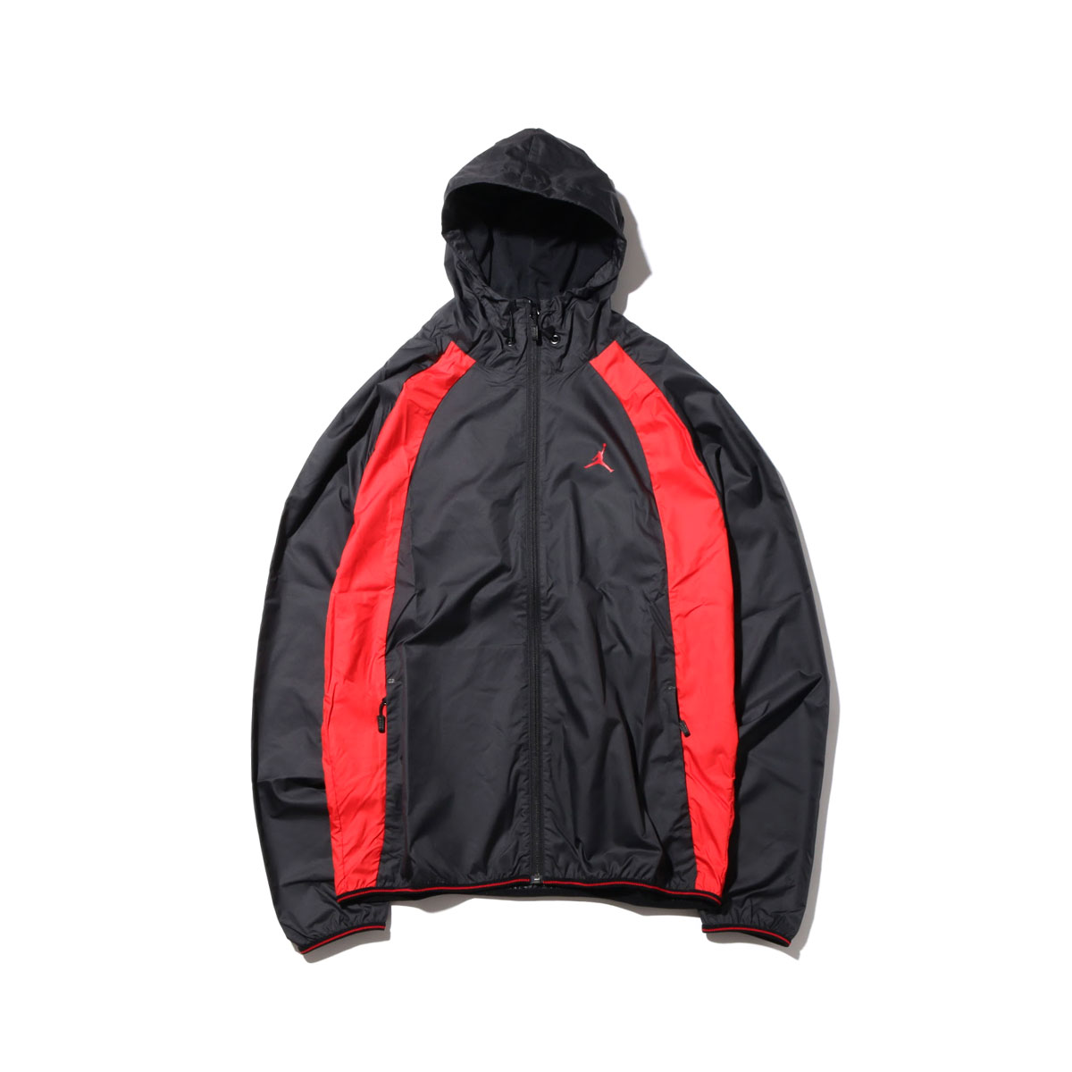NIKE JSW WINGS WINDBREAKER(ナイキ ジョーダン JSW WINGS ウィンドブレーカー)(BLACK/BLACK/UNIVERSITY RED/(UNIVERSITY RED))【メンズ】17HO-S