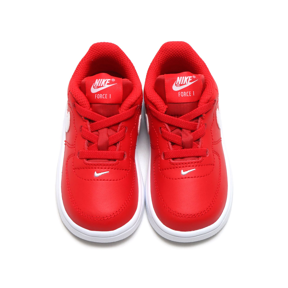 brand new 682f2 6873b NIKE FORCE 1  18 (TD) (Nike force 1 18 TD) (UNIVERSITY RED WHITE) 18SP-I