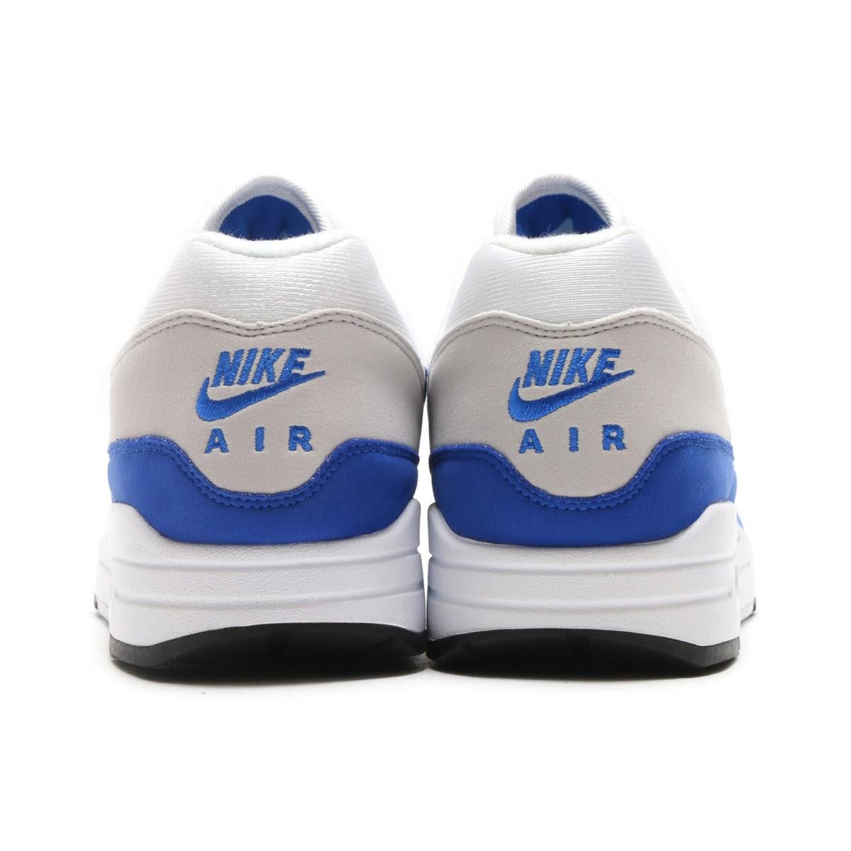 online retailer 1d3ce 5e732 NIKE AIR MAX 1 ANNIVERSARY (Kie Ney AMAX 1 anniversary) (WHITE GAME ROYAL-NEUTRAL  GREY-BLACK) 17HO-S