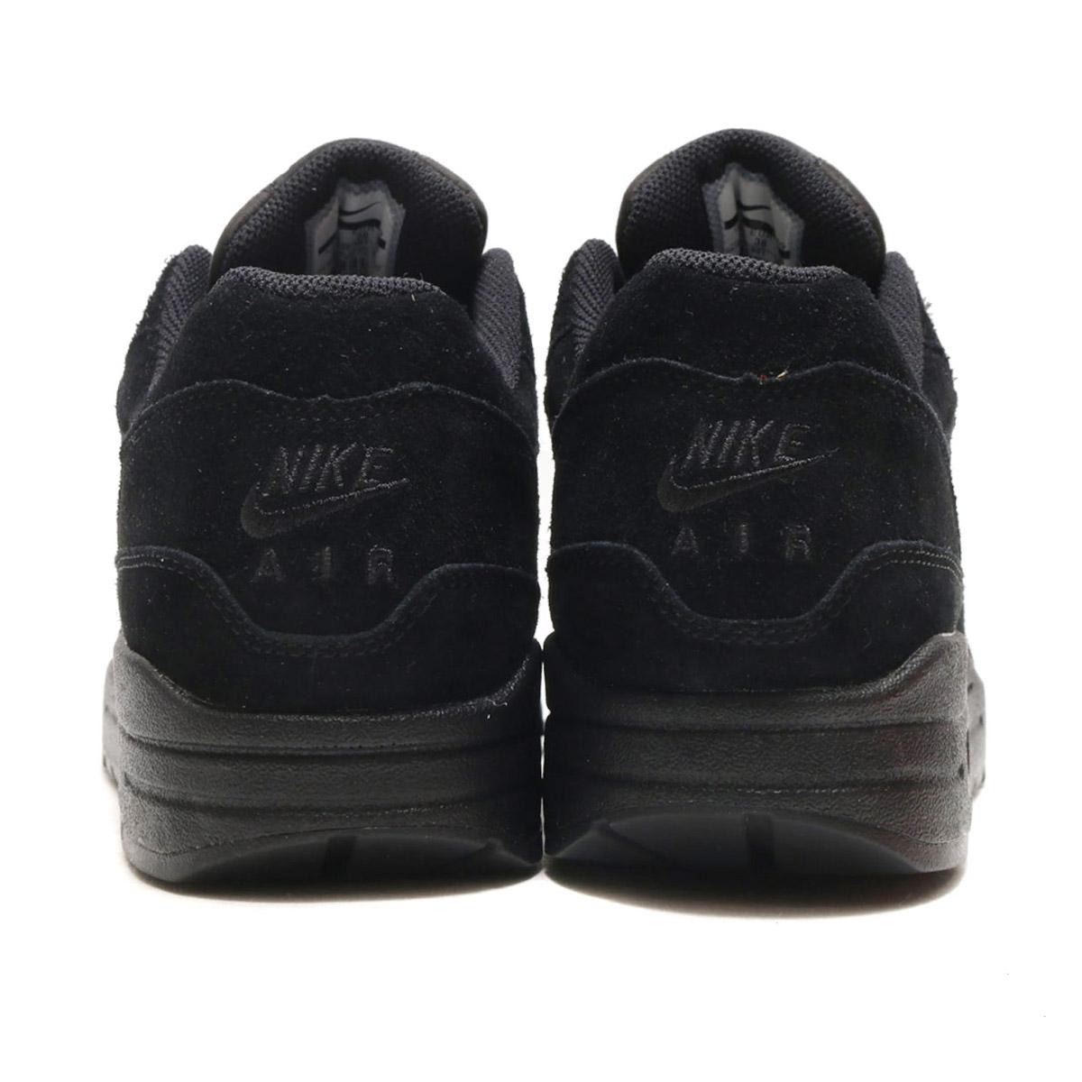 quality design 1bfde 88fcf NIKE W AIR MAX 1 PREMIUM SC (Nike women Air Max 1 premium SC) (BLACK METALLIC  SILVER-WOLF GREY) 17HO-S