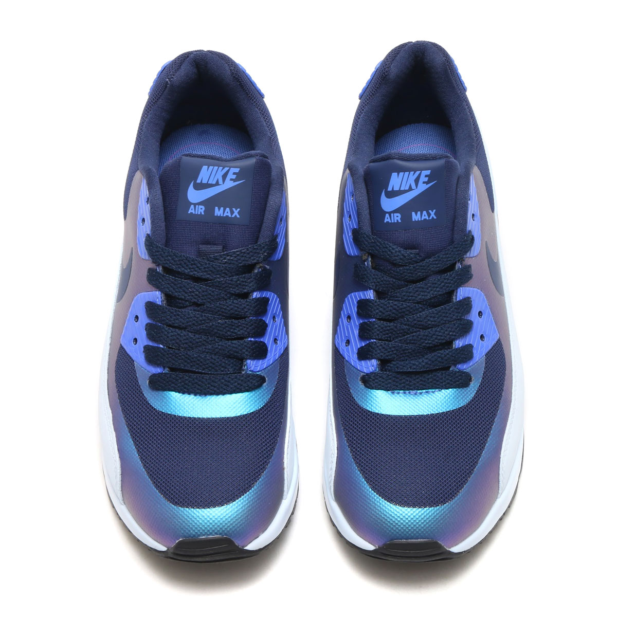 8b2adea8f871 NIKE W AIR MAX 90 ULTRA 2.0 RS (Nike women Air Max 90 ultra 2.0 RS)  (MIDNIGHT NAVY LT BLUE FURY-COMET BLUE) 17HO-S