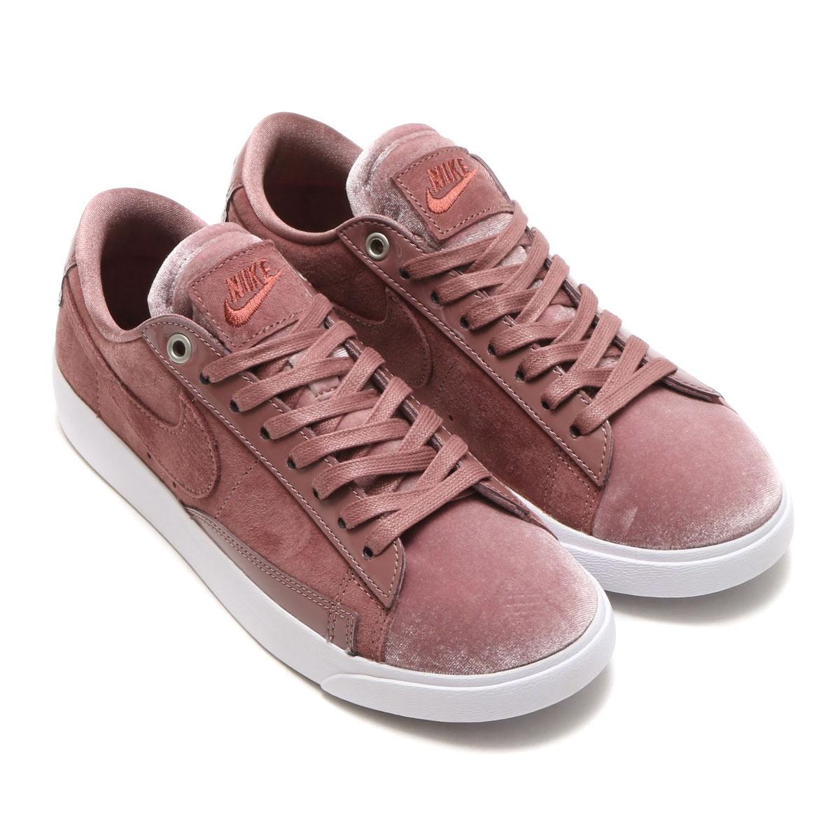 NIKE W BLAZER LOW LX (Nike women blazer low LX) (SMOKEY MAUVE RED  SEPIA-WHITE) 17HO-S c057a24c1