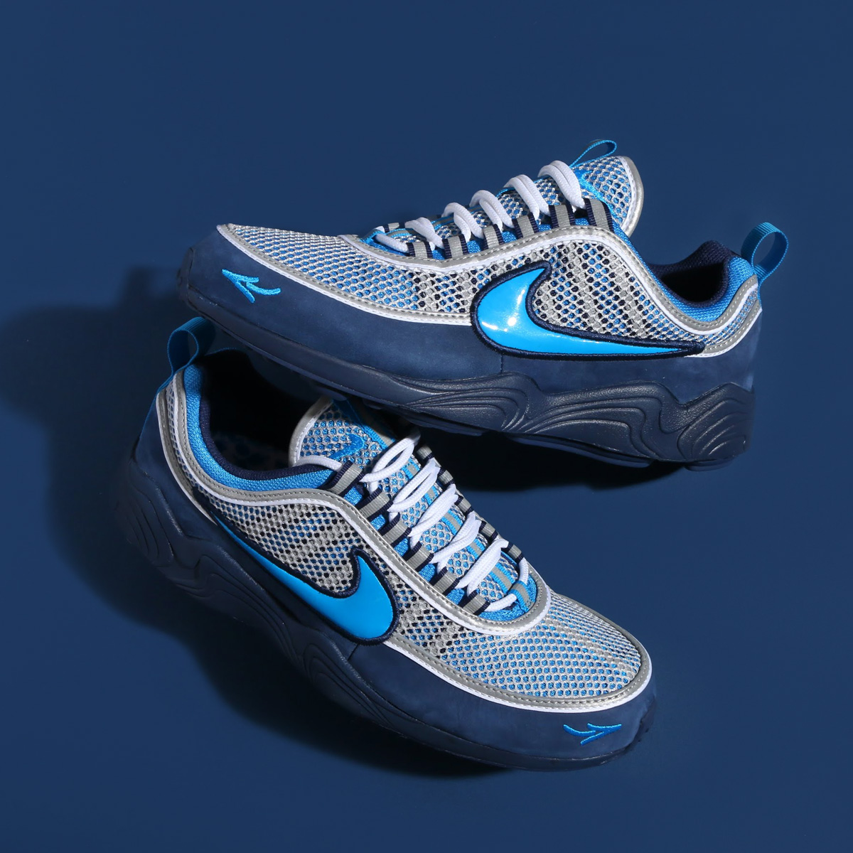 NIKE AIR ZOOM SPIRIDON '16 / STASH(ナイキ エア ズーム スピリドン 16 スタッシュ) (HARBOR BLUE/HERITAGE CYAN-MIDNIGHT NAVY)【メンズ】17HO-S